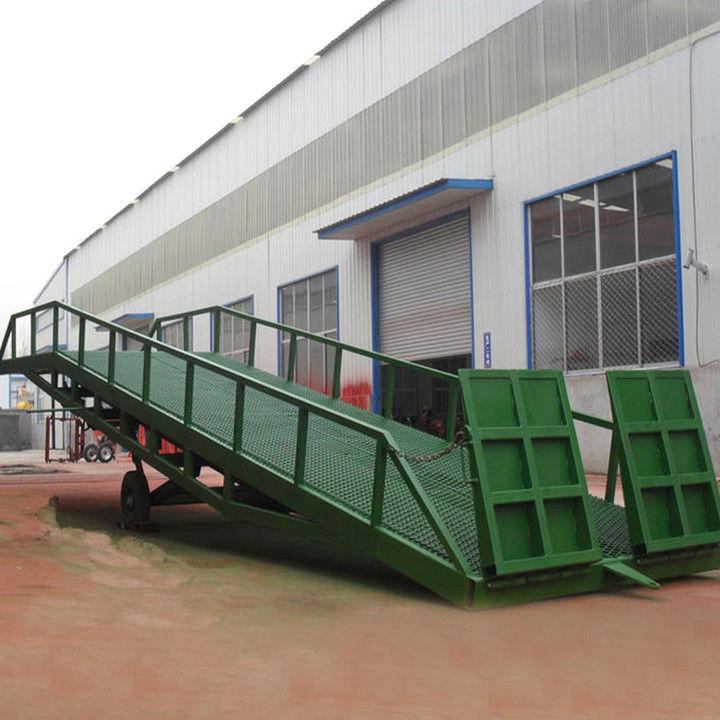 斜坡式装车平台登车桥